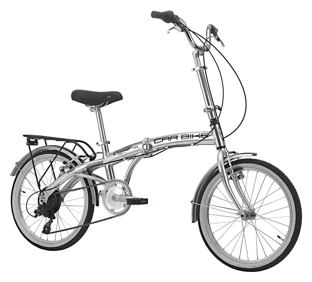 Bicicletta Pieghevole Kawasaki Folding Bike Alluminio.Bici Pieghevole Cinzia Car Bike 20 6v Ty21 Rs35 Argento Lucido