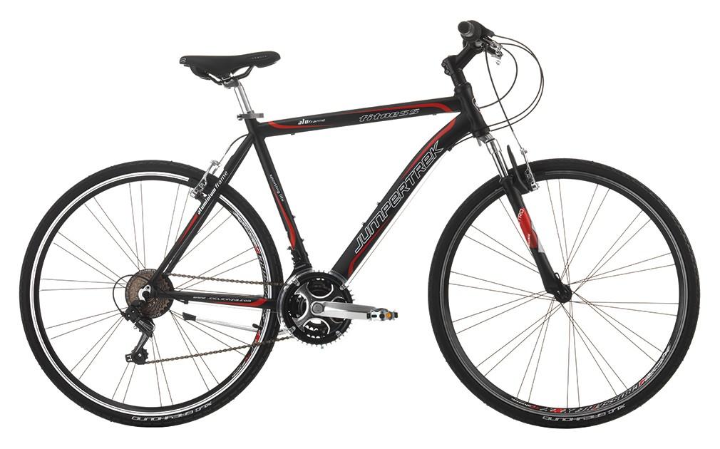 City Bike Trekking Cinzia Fitness Uomo 28 21v Ty21 Nero Opaco