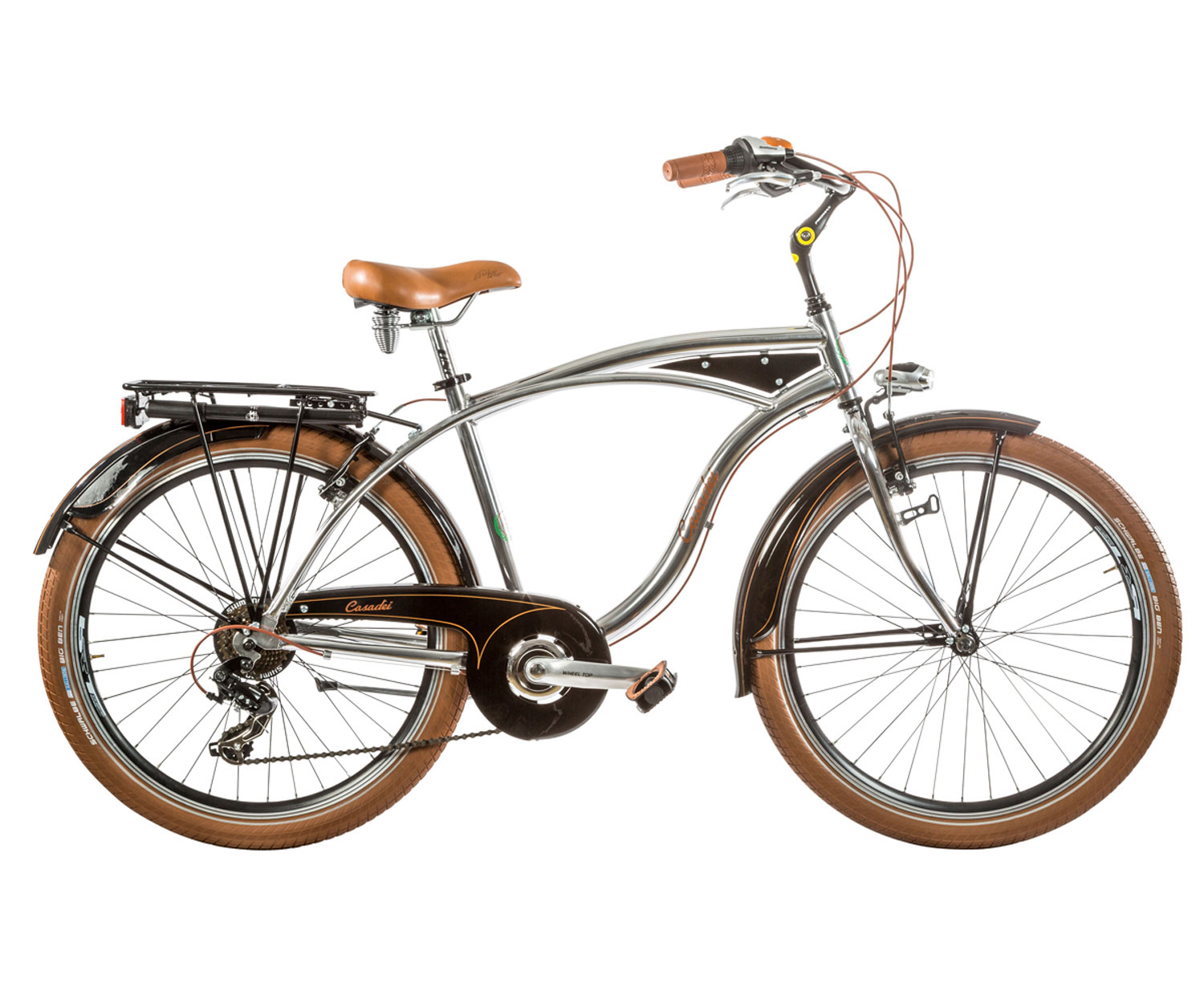 City Bike Cicli Casadei Cruiser 26 Uomo 7v Lucida