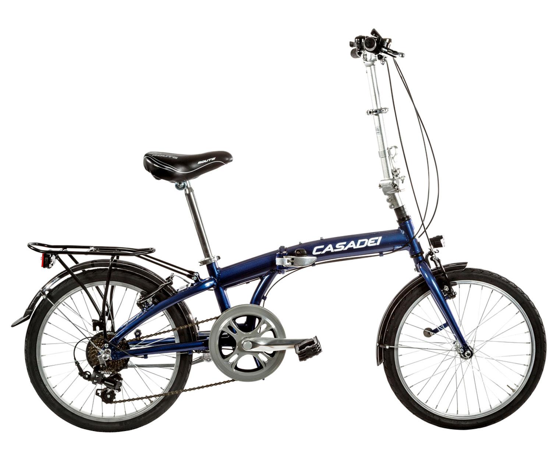 Bicicletta Folding Pieghevole.Bici Pieghevole Cicli Casadei Folding 20 Alluminio 7v Borsa Su Richiesta