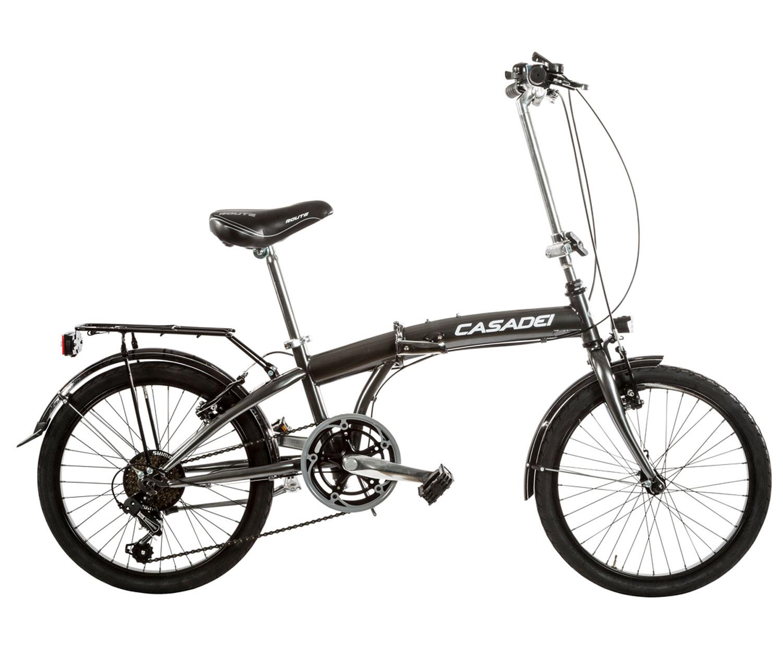 Bicicletta Folding Pieghevole.Bici Pieghevole Cicli Casadei Folding 20 6v